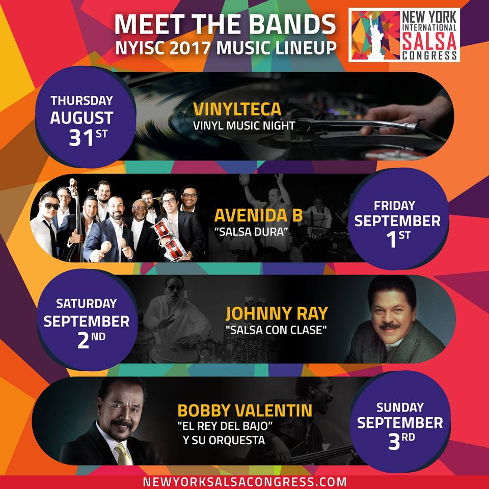 new york salsa congress 2017 bands