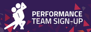 side banner performance team sign up